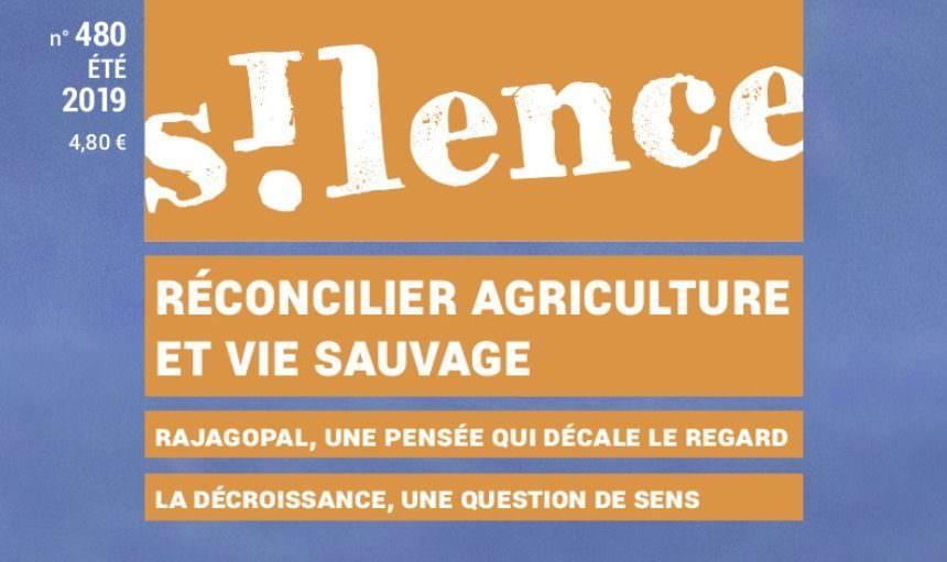 """Un dossier sur """"Paysans de nature"""" dans la revue Silence !"""