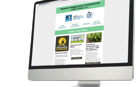 Lettre d'infos «Paysans engagés pour la biodiversité»