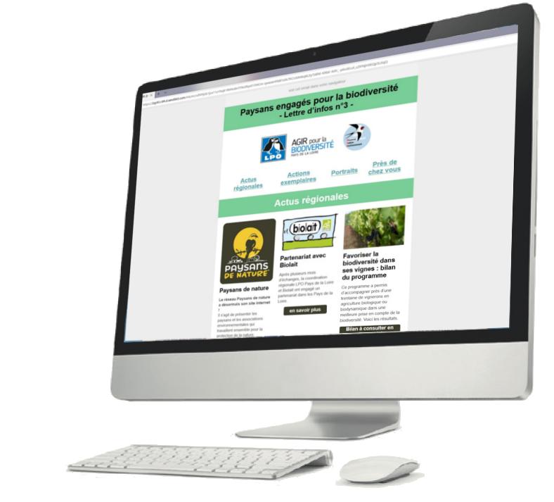 newsletter paysans engagés pour la biodiversité