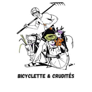 Bicyclette et crudités