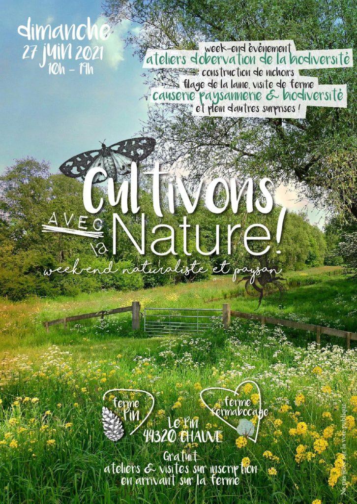 Affiche Cultivons la Nature