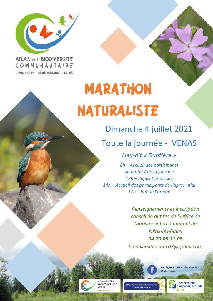 Affiche Marathon Naturaliste