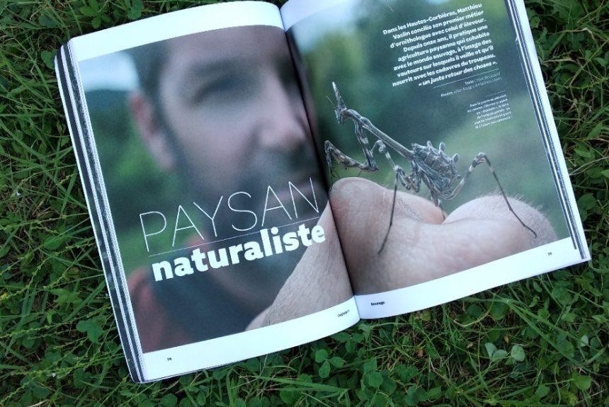 Paysans de nature est dans le dernier numéro d'Oxytanie