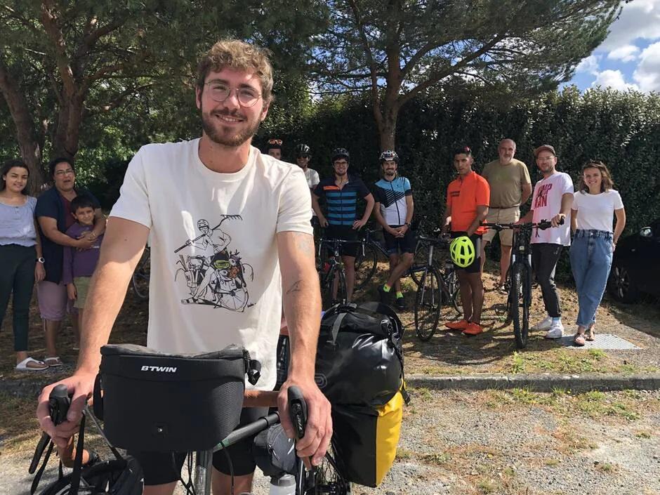 Départ Bicyclette&Crudités